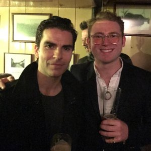 Richard with Kelly Jones from Stereophonics - 2017